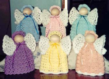 Angels~Cute Crochet~Cute crochet patterns for sale~country ...